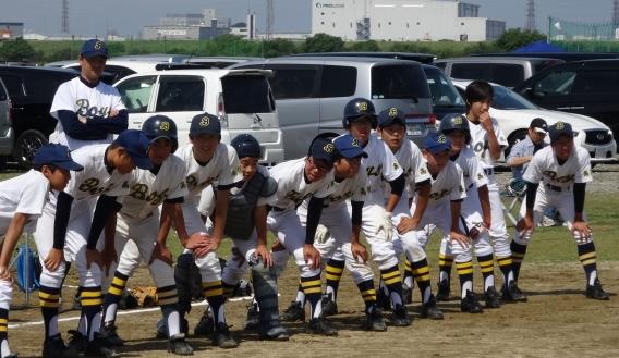 【中】トップリーグ1回戦VSジュニアセブン